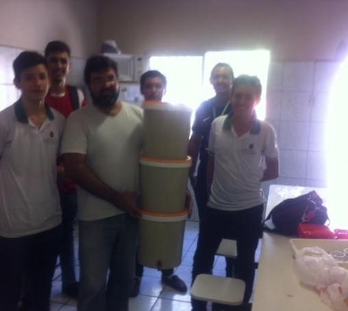 Polô Saterê recebe alunos de Escola Profissionalizante
